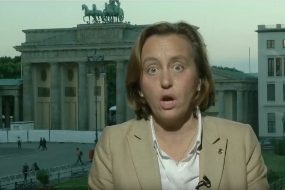 Zum Ende des Interviews wurde auch Beatrix von Storch zunehmend aufbrausender.