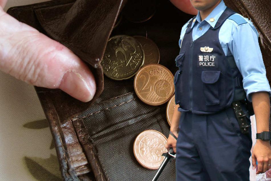 Ein japanischer Polizist hat jetzt eine Geldbörse geklaut. (Symbolbild)