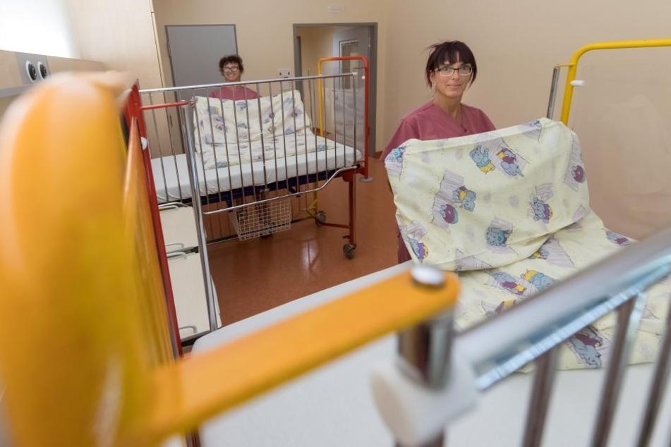 Mehr Platz für kranke Kinder: Die neuen Räume im DRK-Krankenhaus sind freundlicher und heller.