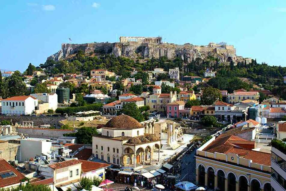 Die griechische Hauptstadt Athen wurde von einem Erdbeben erschüttert.