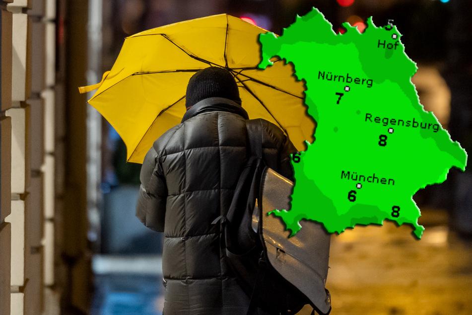 Stürmisches und kühles Wetter: Warnung vor orkanartigen Böen
