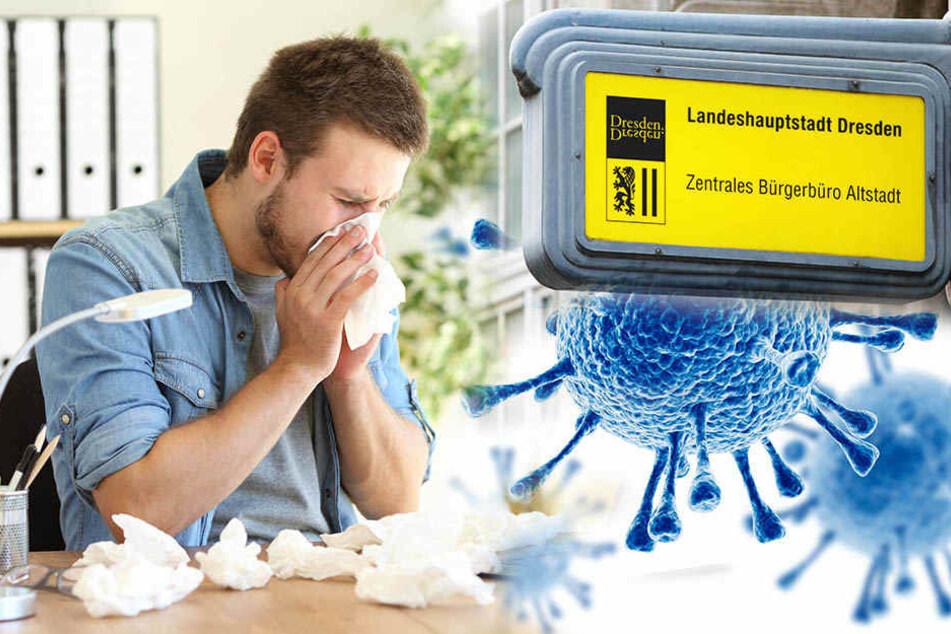 Grippewelle! Selbst zur Ermittlung des Krankenstandes fehlt Personal