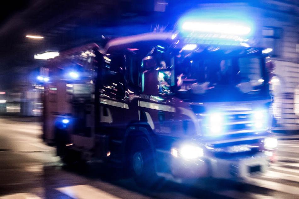 Bewohner konnten noch fliehen: Brand in Mehrfamilienhaus in Eisleben