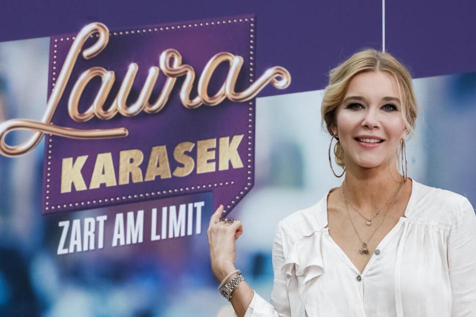 Laura Karasek stellte am Donnerstag ihre neue Sendung vor.