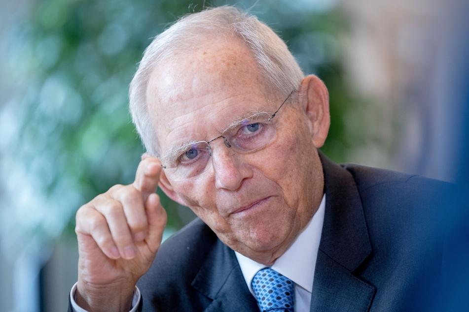 Wolfgang Schäuble (78, CDU), Bundestagspräsident.