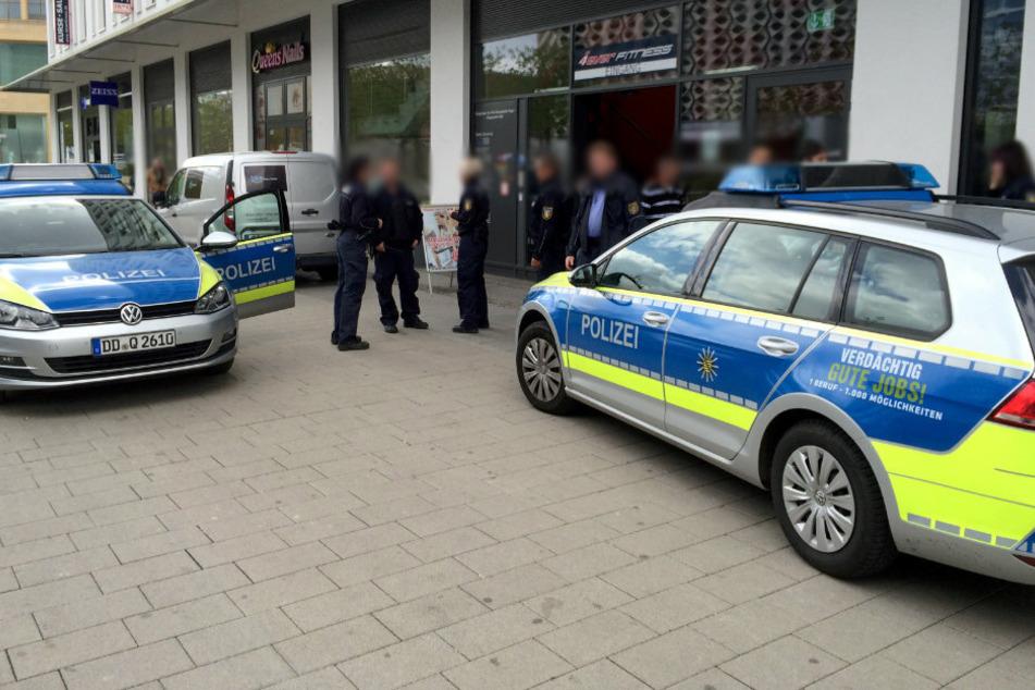 Polizeieinsätze in Chemnitzer Innenstadt: Streit an Zenti eskaliert, Mann rastet am Wall aus