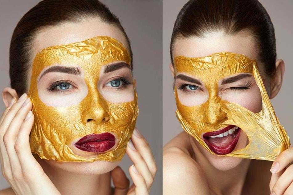 Schon die alten Ägypter setzten auf Gold für die Hautpflege.