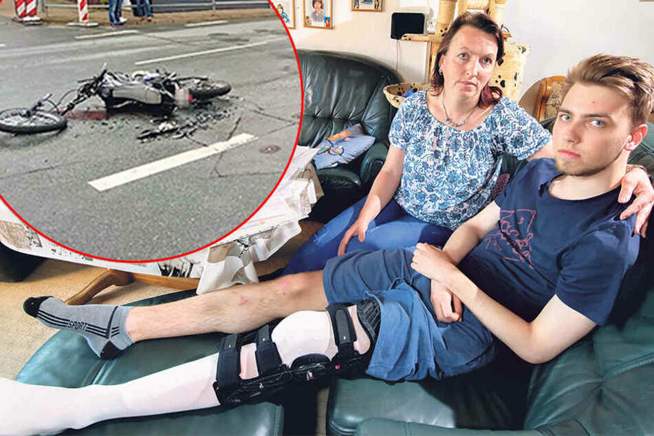Das Drama begann erst nach dem Unfall: Biker sucht verzweifelt nach Facharzt