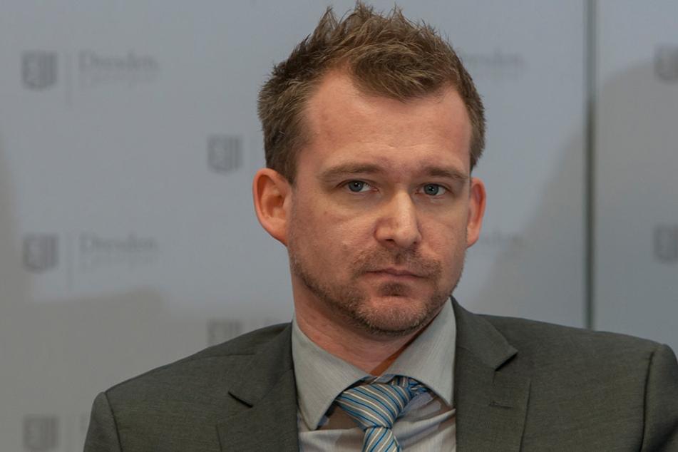 Verkehrsbürgermeister Raoul Schmidt-Lamontain (40, Grüne)