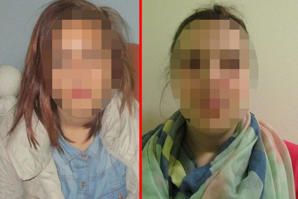 Wo sind Christin (13, links) und Michelle (15)?