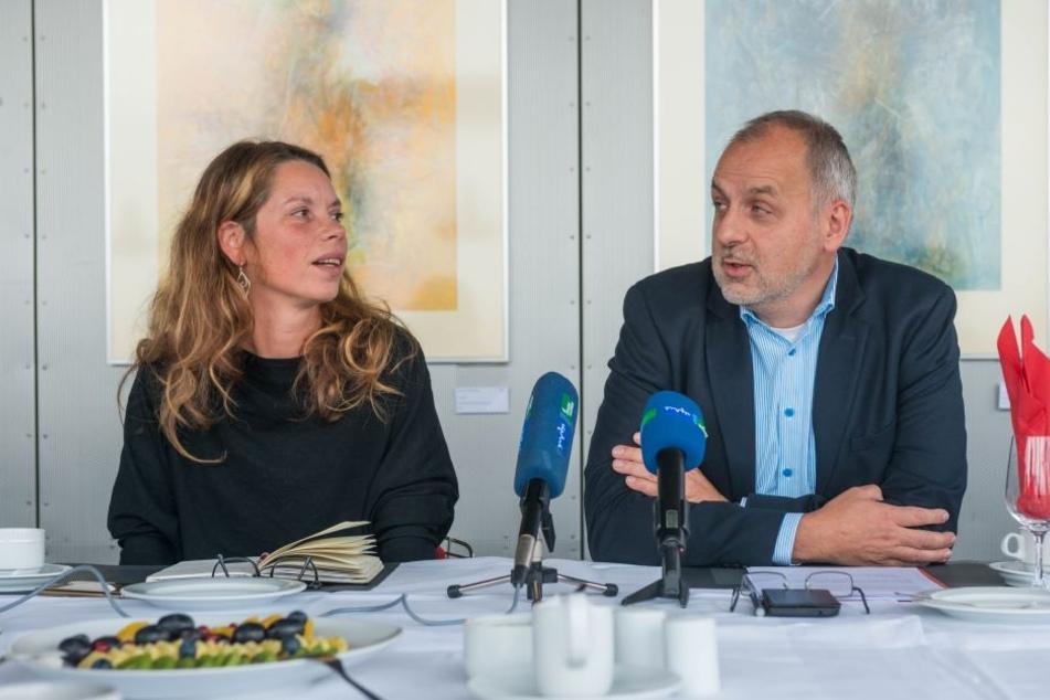 Ob sich Antje Feiks (38) als Wunschnachfolgerin von Noch-Linken-Chef Rico  Gebhardt (54) durchsetzen kann, ist offen.