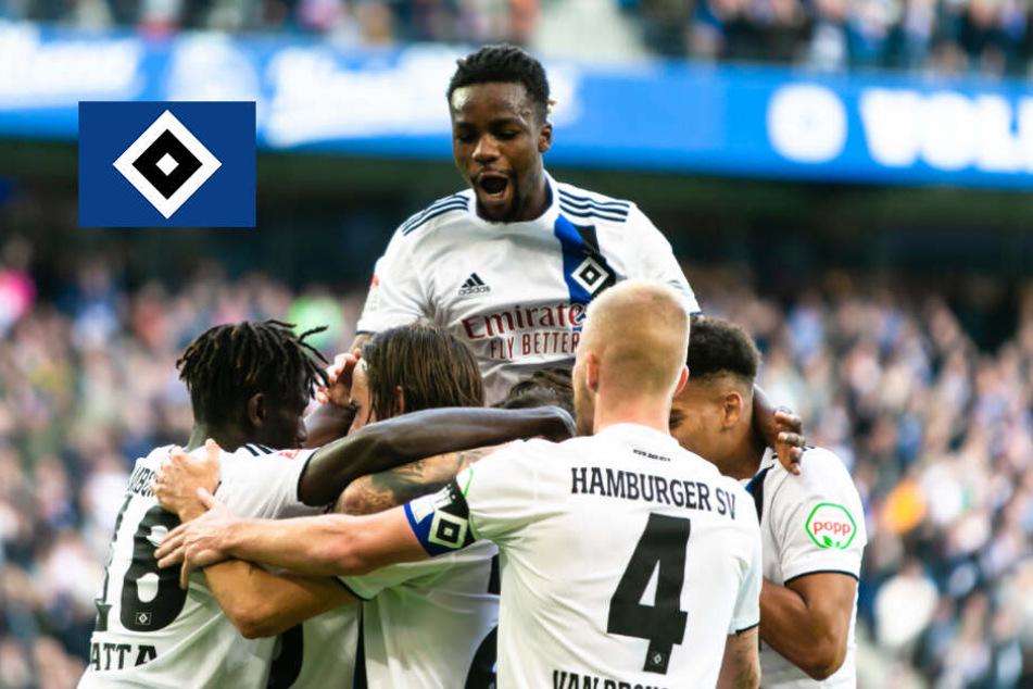 Acht-Tore-Wahnsinn! HSV schickt Stuttgart mit Packung nach Hause