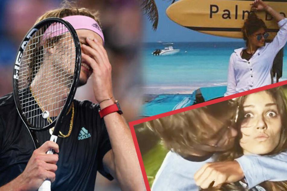 Tennis-Star Zverev nach Aus bei den Australian Open: Diese heiße Russin tröstet ihn jetzt