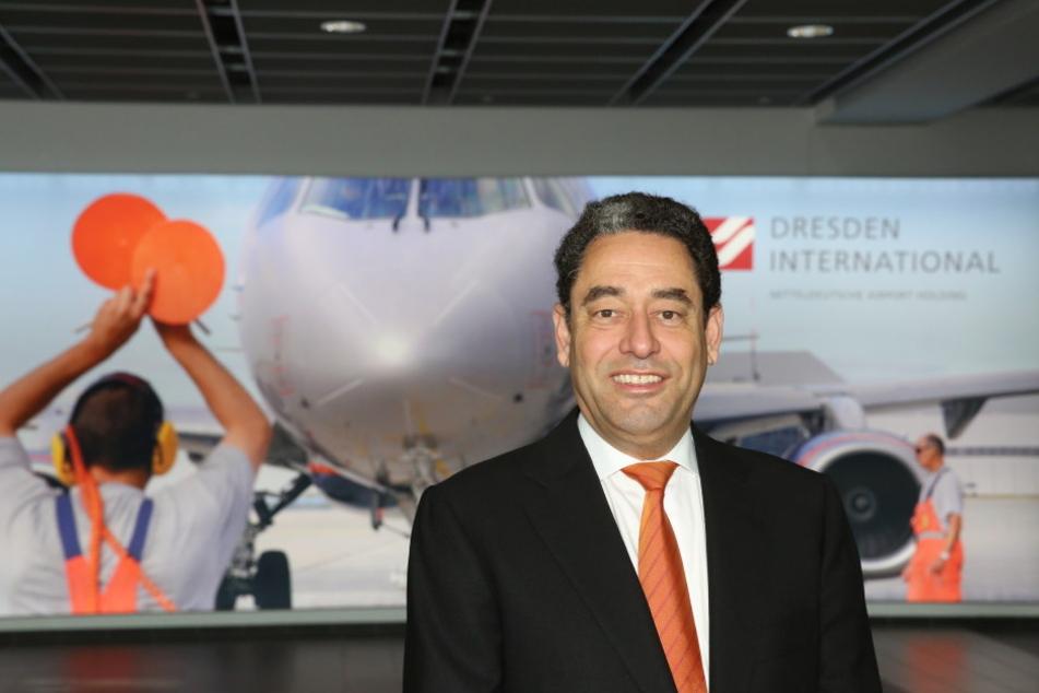 Flughafen-Chef Markus Kopp (50): Dresdens Anbindung ist besser als sein  Ruf.