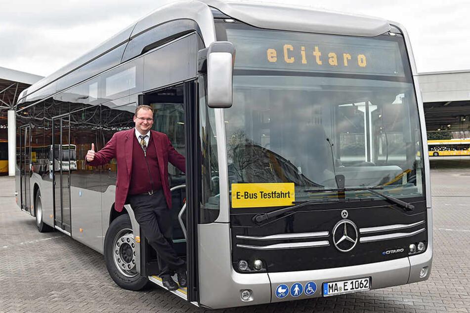 Jetzt stromert auch Mercedes durch Dresden