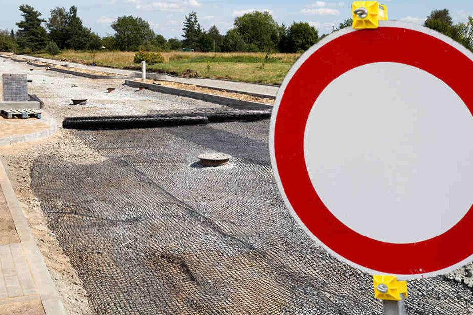 Der Fahrbahnbelag der B175 muss erneuert werden, deshalb wird die Bundesstraße voll gesperrt. (Symbolbild)