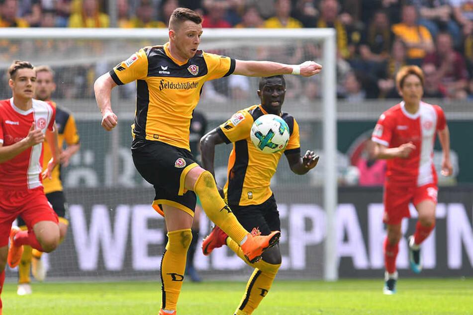 Haris Duljevic (am Ball) und Moussa Koné sollen für Dynamo in der kommenden Saison richtig durchstarten und absolute Leistungsträger werden. Das Potenzial ist bei beiden riesig, die Leistungen waren aber zuletzt noch zu schwankend.