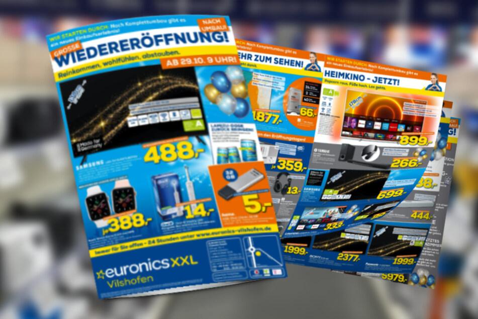 Mega Angebote zur großen Euronics-Wiedereröffnung ab Donnerstag