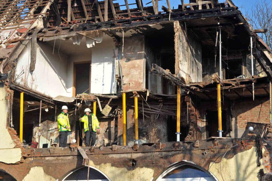 In Zwickau war die letzte gemeinsame Wohnung des Trios abgebrannt. (Archivbild)