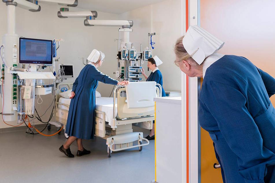 Über 550 Angestellte kümmern sich um gut 40.000 Patienten jährlich.
