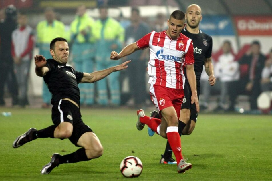 Luka Joveljic kickt künftig für die Eintracht.