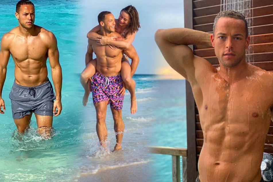 Hot, hot, hot: Ex-Bachelor Andrej Mangold zeigt seinen Stahl-Body