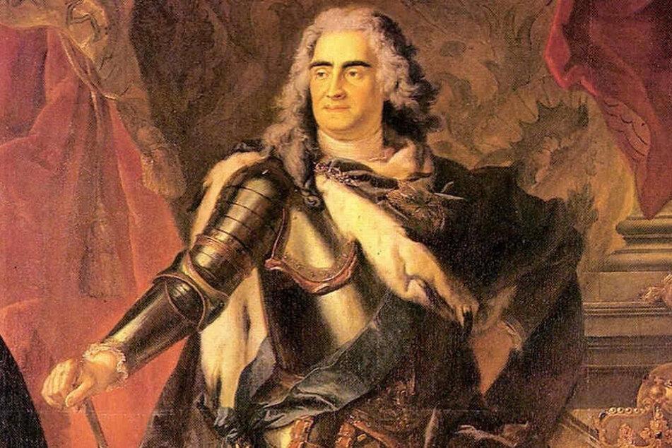 Sein Traumschlafzimmer entsteht wieder neu: August der Starke (1670 - 1733).
