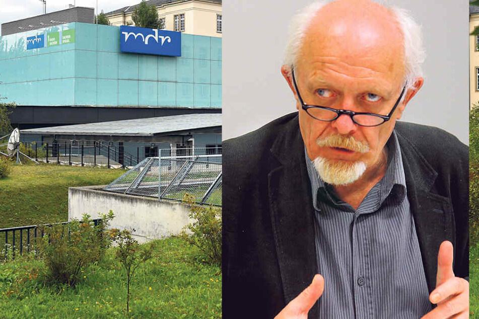 Grünen-Stadtrat Michael Schmelich (63) ärgert sich über den MDR, der PEGIDA ein Forum biete.