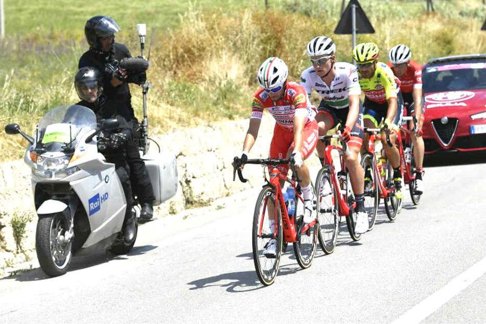 Die 5. Etappe vom Giro d'Italia 2018 führte von Agrigento nach Santa Ninfa.