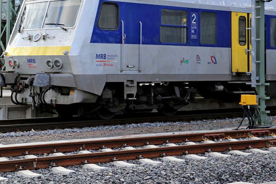 Die Attacke geschah in einem Zug der Mitteldeutschen Regionbahn (Symbolfoto).