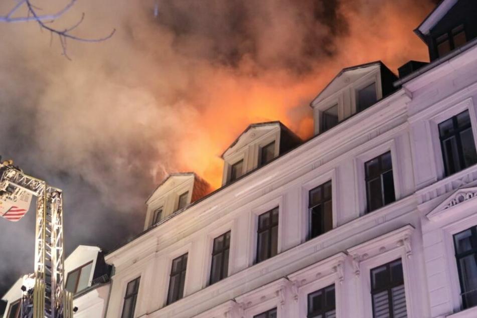 Nach Brand: Wie steht es um das Wohnhaus in der Gottschedstraße?