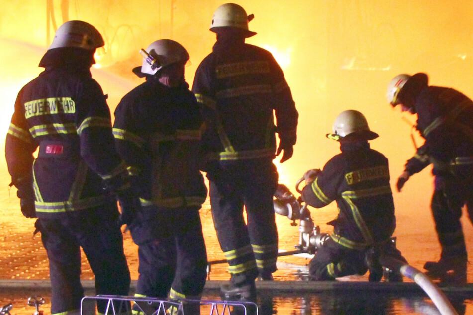 Zwei Menschen bei schlimmem Brand auf Bauernhof verletzt, mehrere Ziegen verendet