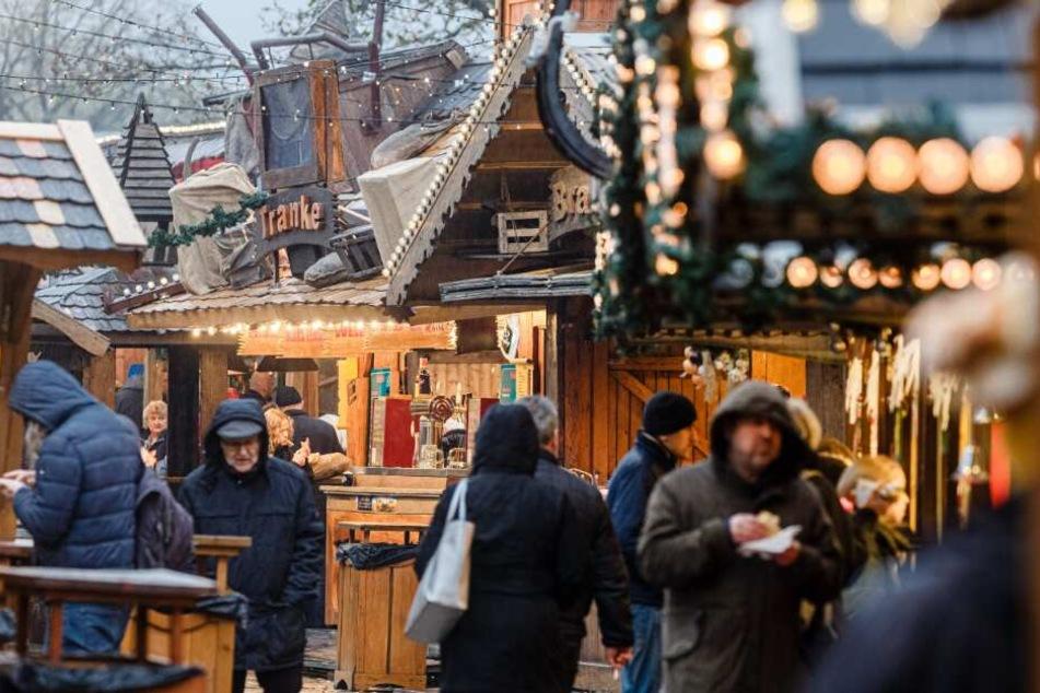 """Der """"Wandsbeker Winterzauber"""" hat noch bis zum 5. Januar geöffnet."""