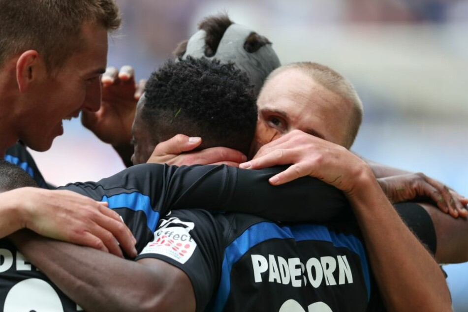 Auch bei Dynamo Dresden möchte der SCP gerne jubeln.