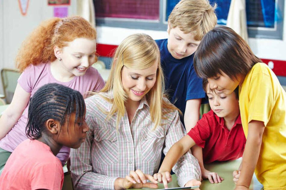 Viele Schüler haben keine digitalen Lehrmittel.