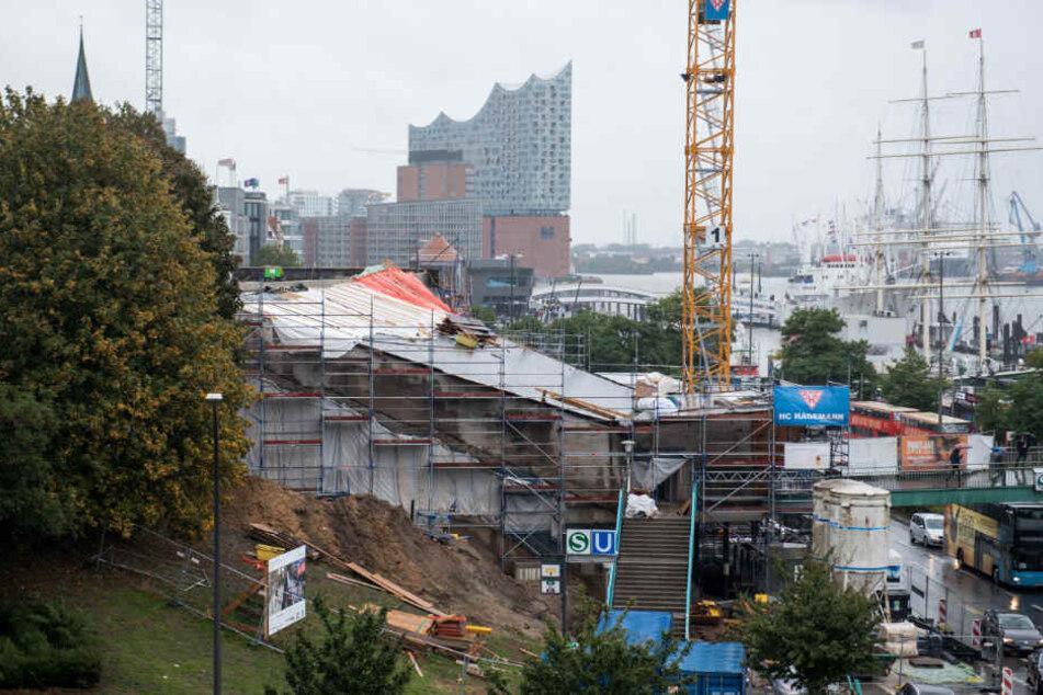 Der Umbau der U-Bahn Station Landungsbrücken dauerte mehrere Monate. (Archivbild)