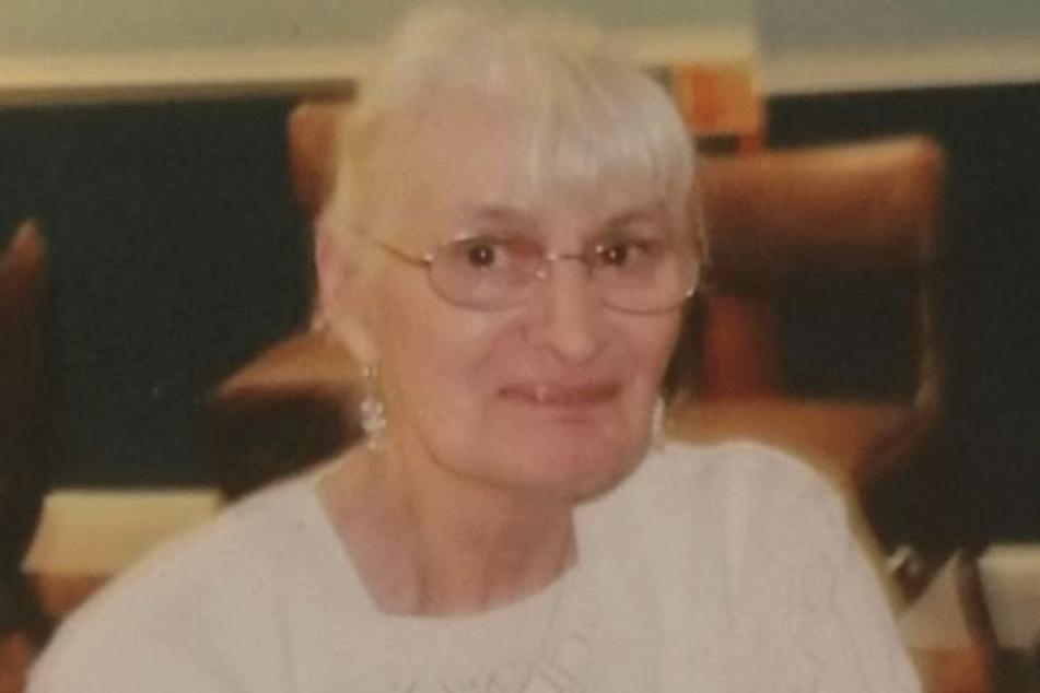 Irene Collins (73) auf dem einzigen Foto, dass ihre Familie veröffentlichte.