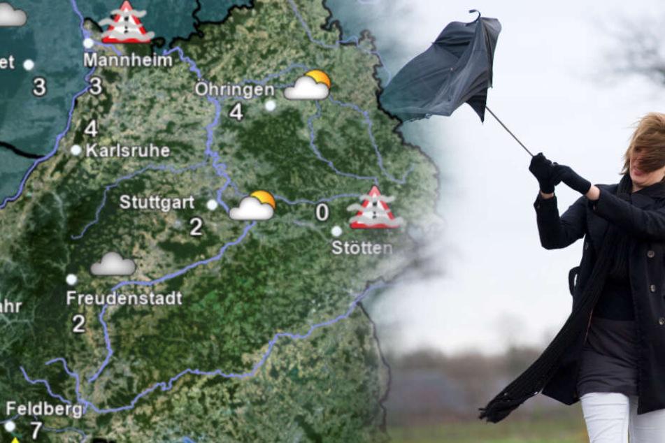 Sturm Am Wochenende