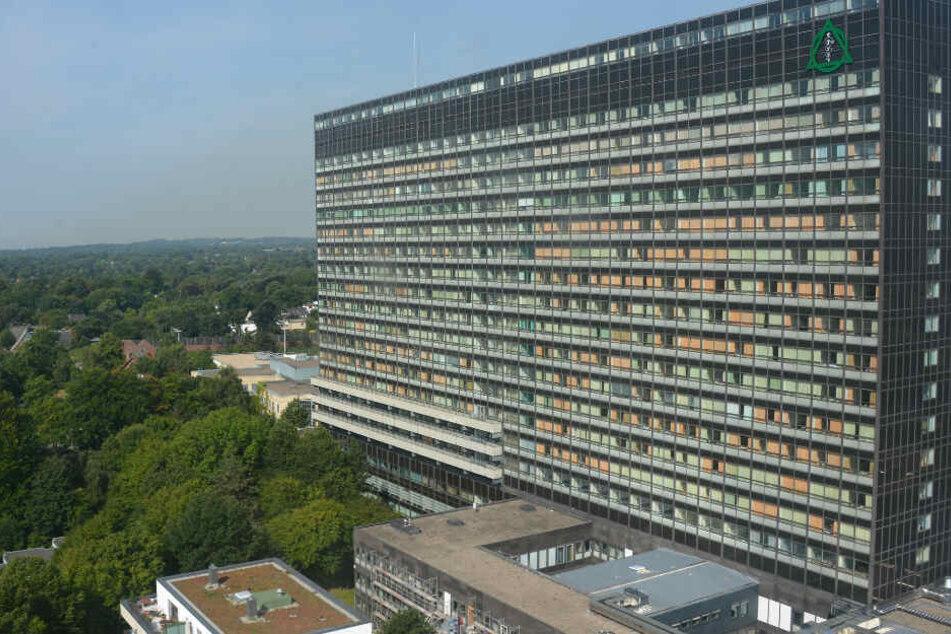 Das Gebäude der Asklepios Klinik Altona ist 20 Stockwerke hoch.