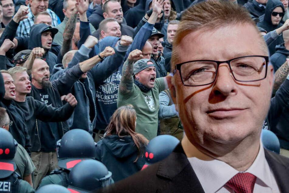 Der neue Verfassungsschutz-Chef Thomas Haldenwang will verstärkt gegen Rechts vorgehen.