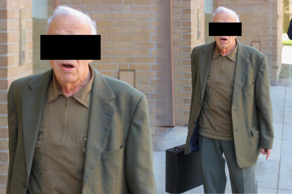 Bestechungsversuch! Jetzt ist Opa Gerhard (87) seinen Benz los