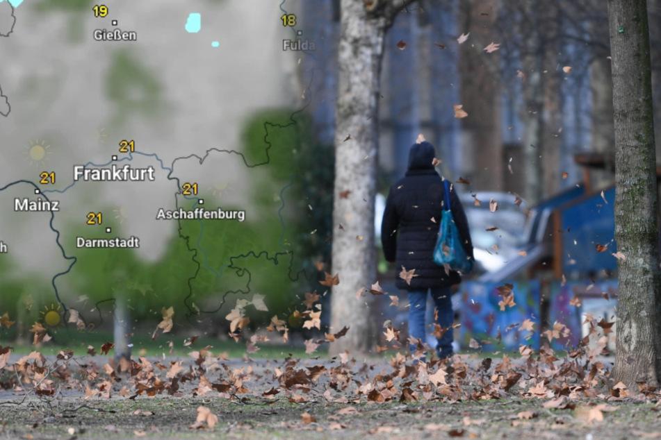 Hessen-Wetter: Sturmtief zieht in der Nacht zu Mittwoch auf