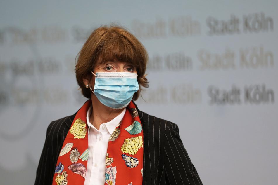 Henriette Reker (64, parteilos), Oberbürgermeisterin von Köln.