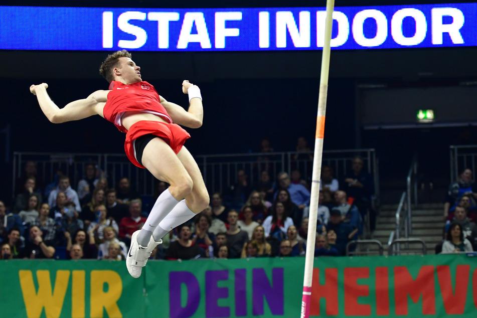 Das Turnier ISTAF Indoor Männer Stabhochsprung in der Mercedes-Benz-Arena konnte im Februar noch stattfinden. Acht Meetings der Diamond League fielen aus.