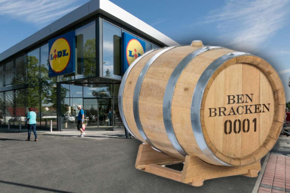 Lidl bietet ab sofort Whisky zum Selbermachen in 30-Liter-Fässern an.