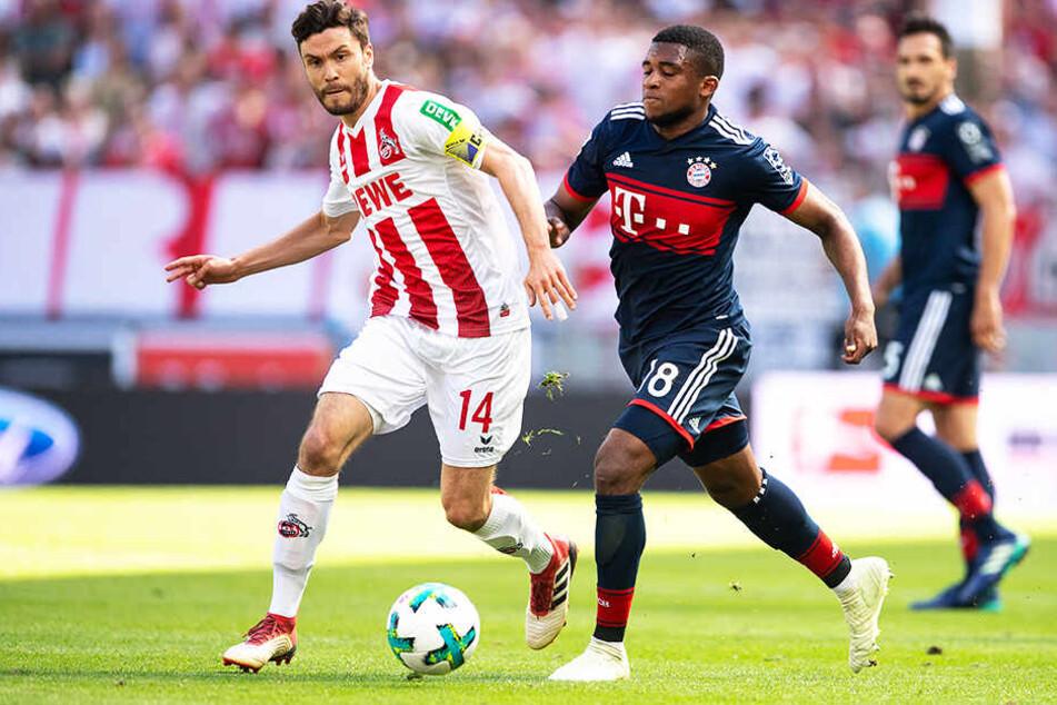 Uerdingen setzt auch auf junge Talente: So wurde unter anderem Franck Evina (r.) vom FC Bayern München für ein Jahr ausgeliehen.