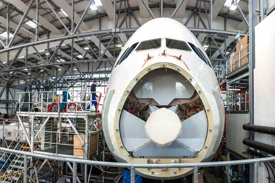 An den Elbe Flugzeugwerken sind die Singapurer als Mehrheitseigner beteiligt.
