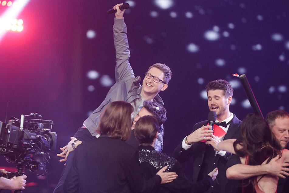 """Samuel Rösch aus Sachsen gewinnt """"Voice of Germany""""-Finale"""