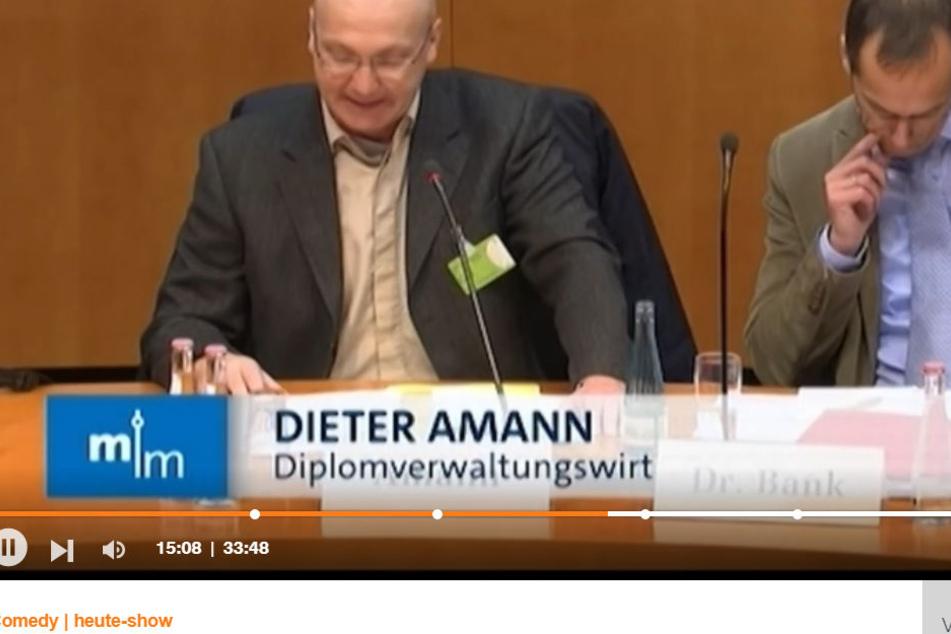 AfD-Fachreferent und Bundestagskandidat Dieter Amann.