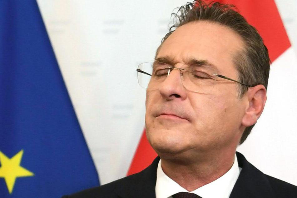 Heinz-Christian Strache hat Anzeigen in Deutschland gestellt.